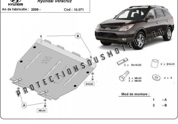 protection sous moteur et de la bo u00eete de vitesse hyundai