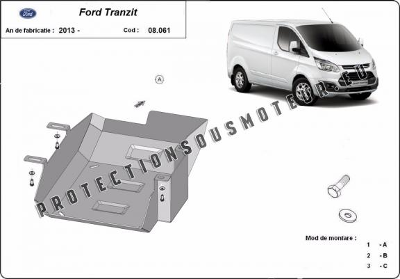 Protection réservoir AdBlue Ford Transit
