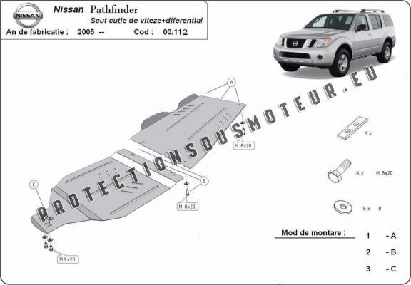 protection de la bo u00eete de vitesse et de la diff u00e9rentiel
