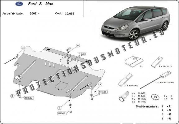 protection sous moteur et de la bo u00eete de vitesse ford s